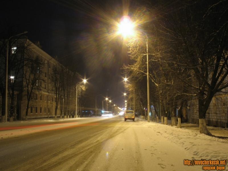 Московская в сторону Просвещения