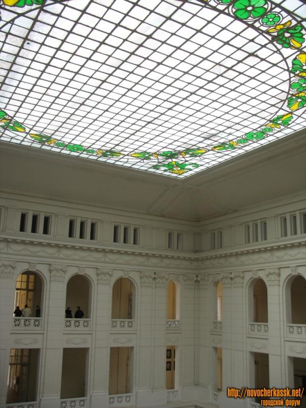 Витраж крытого двора ЮРГТУ (НПИ)