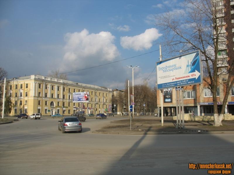 Перекресток Первомайской и Баклановского проспекта