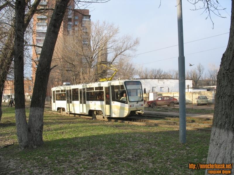 Трамвай на Первомайской