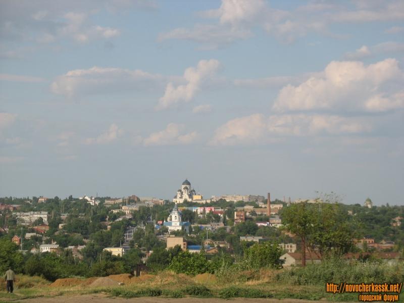 Вид на город со стороны Кирпичного завода