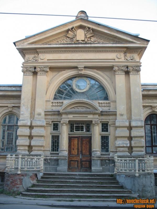 Здание отдела интеллектуальной собственности ЮРГТУ (НПИ), ул. Просвещения