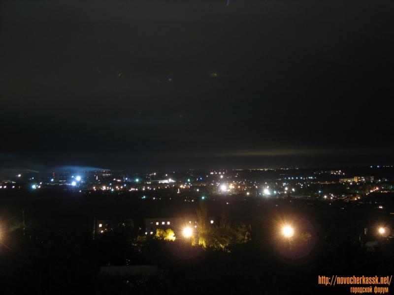 Вид на поселки из города