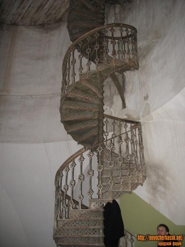 Лестница к колоколам Собора