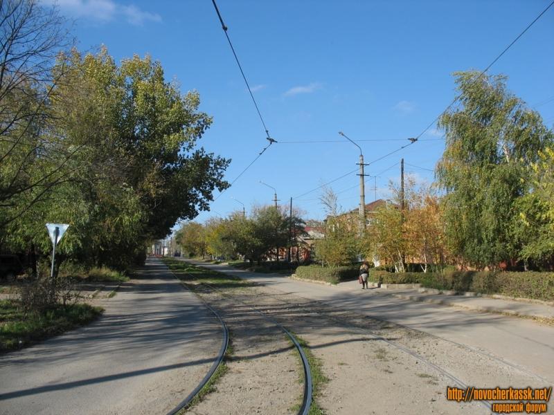 Вид на улицу Галины Петровой с Троицкой