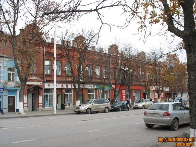 Здание на углу Московской и Красноармейской