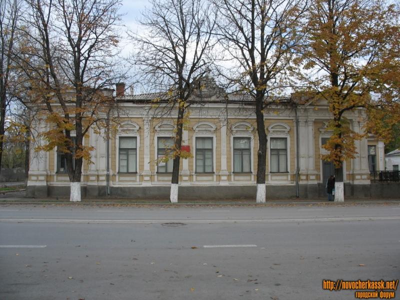 Торговый техникум, Московская