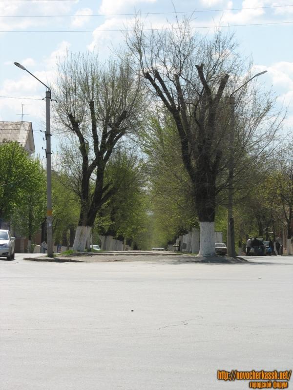 Улица Пушкинская. Вид с Баклановского проспекта
