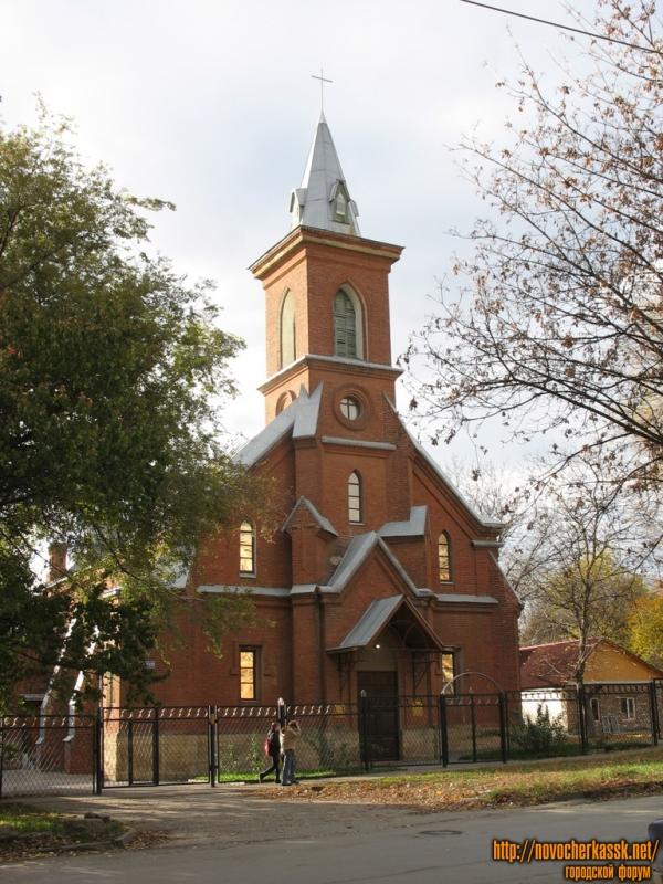 Лютеранская кирха на Михайловской