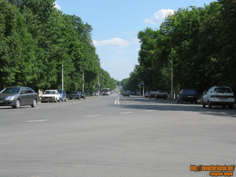 Московская улица с перекрестка Кривопустенко