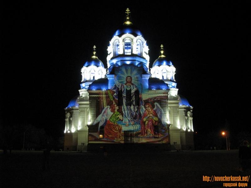 Проекции церковных картин на Собор