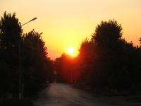 Рассвет над Платовским проспектом