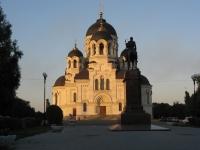 Памятник атаману Платову и собор