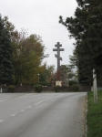 Крест на площади Троицкой