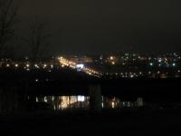 Вид на город, спуск Герцена и Триумфальную арку