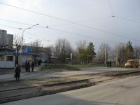 Разворотная площадка трамваев около молзавода, 26 Бакинских комиссаров