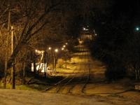 Поворот трамвайный путей на Орджоникидзе