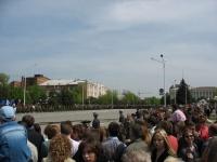 9 мая, парад на Платовском проспекте