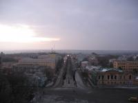 Вид с собора. Платовский проспект
