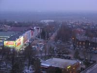 Вид с собора. Проспект Ермака, торговый центр Арбат