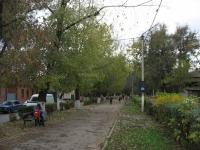 Аллея на Просвещения в сторону Пушкинской
