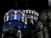 Подсветка собора