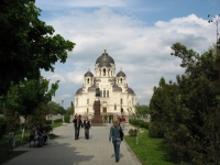 Собор и памятник основателю города М.И. Платову