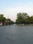 Баклановский проспект в сторону пл. Троицкой