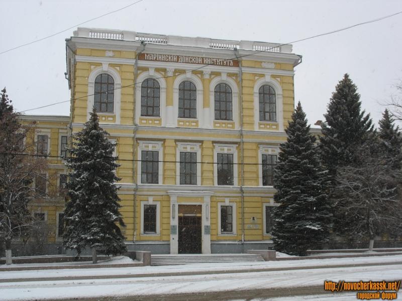 Новочеркасская государственная мелиоративная академия (НГМА), улица Пушкинская