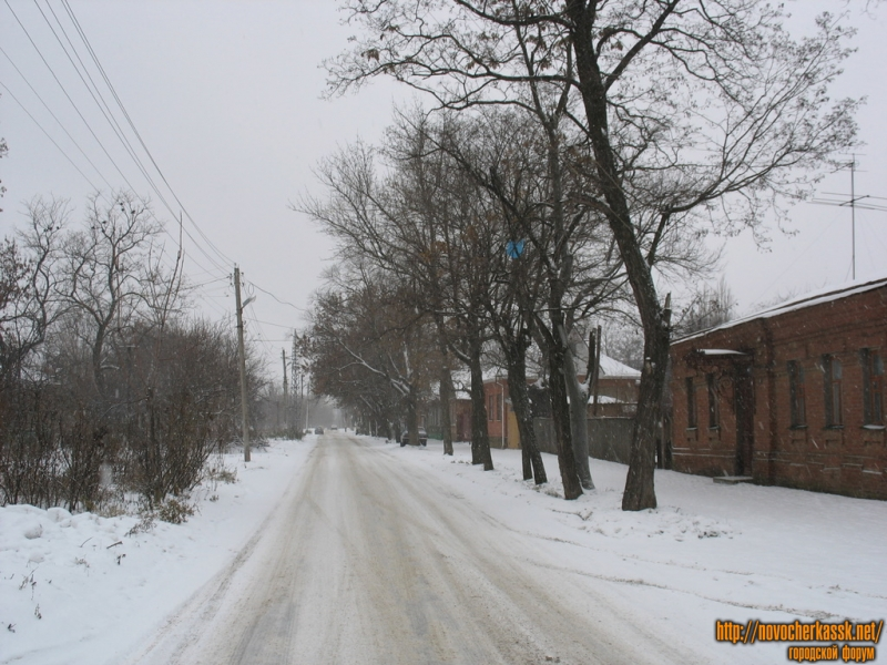 Энгельса в сторону переулка Галины Петровой