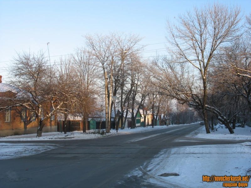 Перекресток Буденновской и Крылова