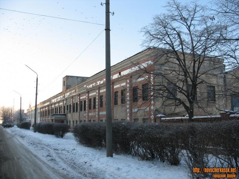 Здание трамвайного депо, улица Буденновская