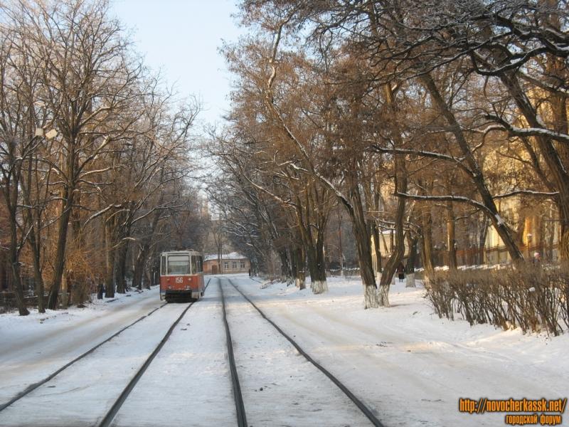 Трамвай на Богдана Хмельницкого