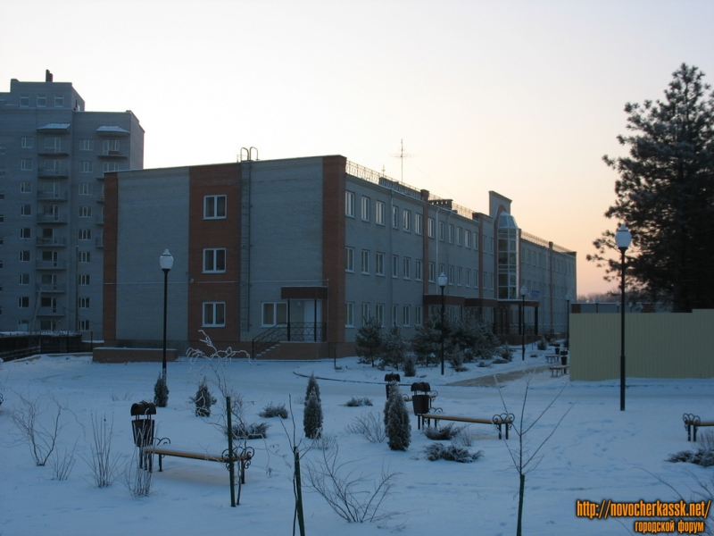 Первомайская, новый корпус детской больницы