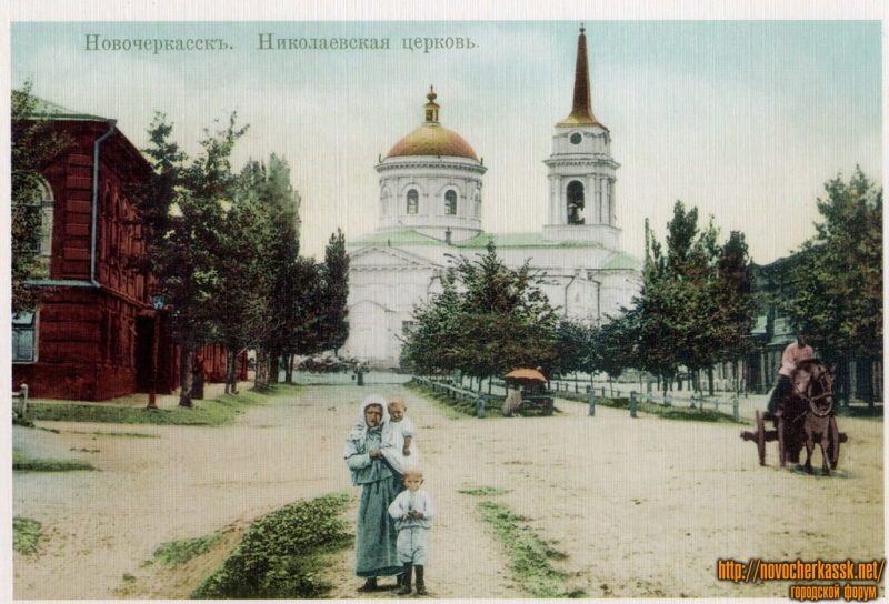 Николаевская церковь (вид с улицы Пушкинской)