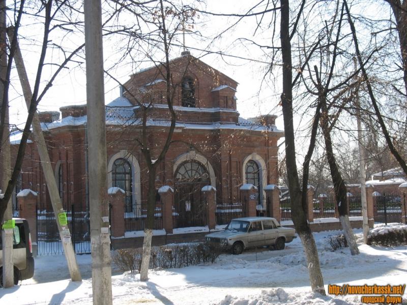 Католический костел на улице Просвещения
