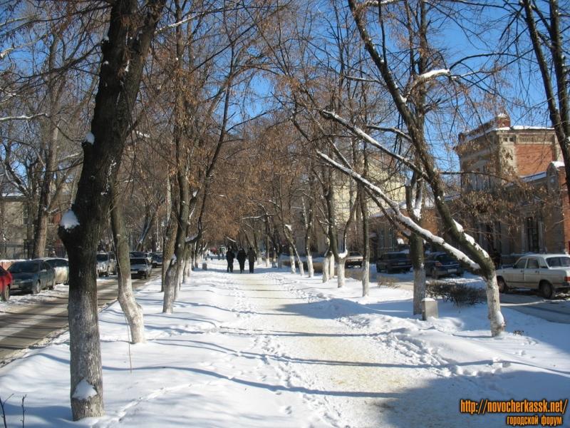 Аллея улицы Просвещения