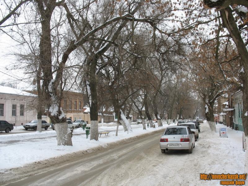 Комитетская улица в сторону Московской