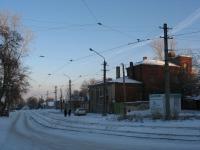 Трамвайные пути на Щорса, пересечение с Крылова