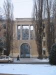 Общежитие НГМА, угол Баклановкого и 26 Бакинских комиссаров