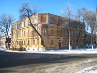 Школа номер 5, ранее училище Кузнецова, угол Генерала Лебедя и Атаманской