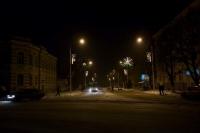 Вечерняя Московская, вид с Троицкой площади