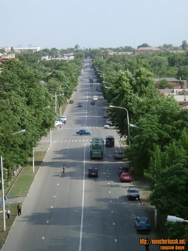 Московская улица. Вид сверху