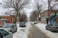 Улица Генерала Лебедя в сторону Атаманской