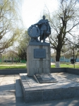 Памятник Героям, павшим в боях за Родину, ул. Гагарина, Хотунок