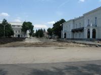 Уничтожение площади перед Атаманским дворцом
