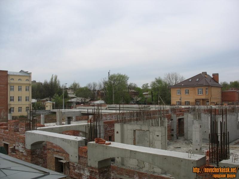 Строительство библиотечного корпуса ЮРГТУ