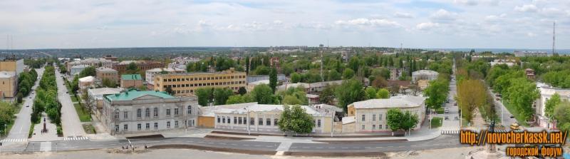Панорама центральной части Новочеркасска