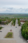 Памятник Бакланову и Красный спуск