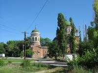 Пересечение Разина и Александровской. Храм Александра Невского